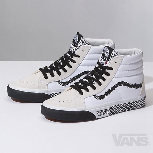 Vans Shoes | Vans Sk8hi Reissue Diy